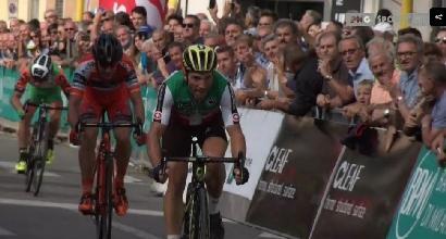 Ciclismo, Coppa Agostoni 2017: Albasini trionfa in volata