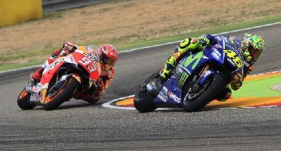 Rossi, nulla di eroico ad Aragon