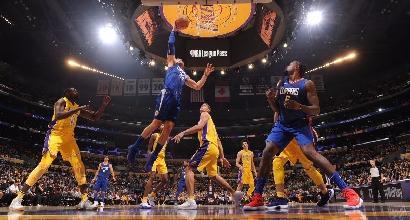 Si aggiudicano i Clippers il derby di Los Angeles, Lakers sconfitti