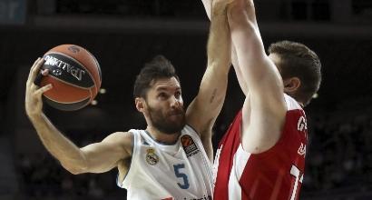 Eurolega, l'Olimpia cade a Madrid: 90-100