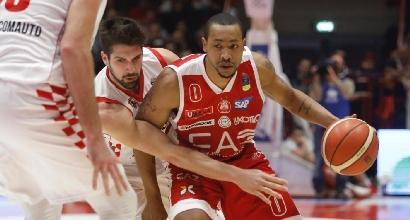 Basket, Milano vince e torna in vetta: agganciata Avellino
