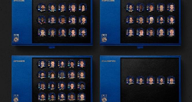 Squadra dell'anno EA SPORTS Fifa: ecco le nomination