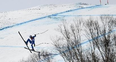 """Olimpiadi, Fanchini: """"Delusa, volevo la medaglia"""""""