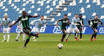 Serie A: Meret frena il Sassuolo, la Spal pareggia