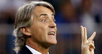 L'Italia di Mancini: Balotelli e 4-2-3-1