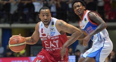 Playoff Serie A Basket: Milano e Brescia volano in semifinale