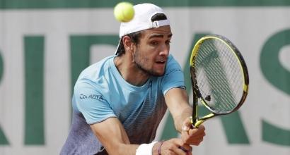 Roland Garros: Berrettini avanza