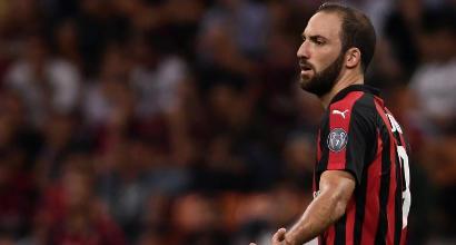 """Milan-Juve: """"Solo applausi per Higuain, non come altri..."""""""