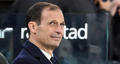 """Juve, Allegri: """"Una vittoria in meno per il traguardo finale. Che Dybala e Ronaldo..."""""""