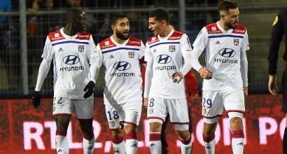 Coppa di Francia: Lione agli ottavi, 2-0 all'Amiens