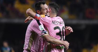 Serie B: il Palermo passa 2-1 a Benevento, lo Spezia rimonta l'Ascoli 3-2