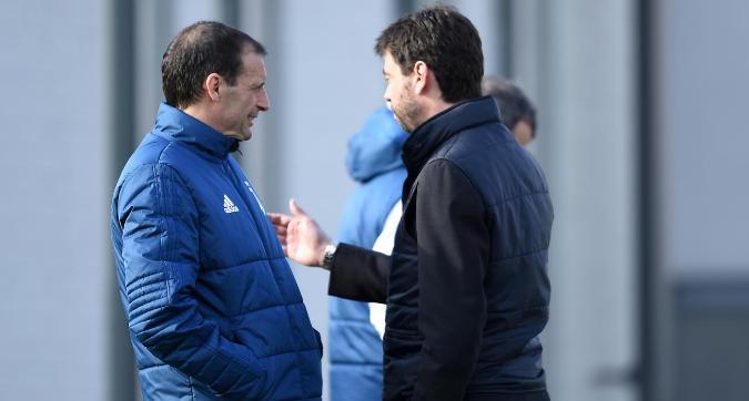Juventus, Agnelli-Allegri: tutto ancora in discussione