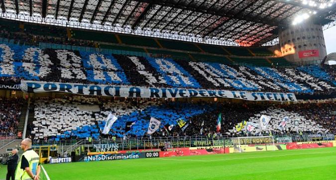 Inter, Curva Nord contro l'Atalanta a San Siro in Champions: