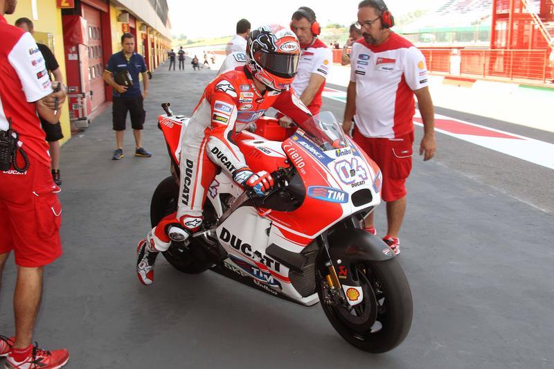 MotoGP, test con le Michelin al Mugello