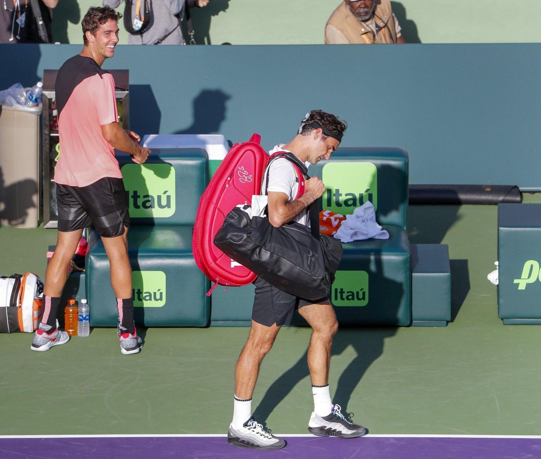 Clamoroso a Miami: Federer subito fuori Kokkinakis