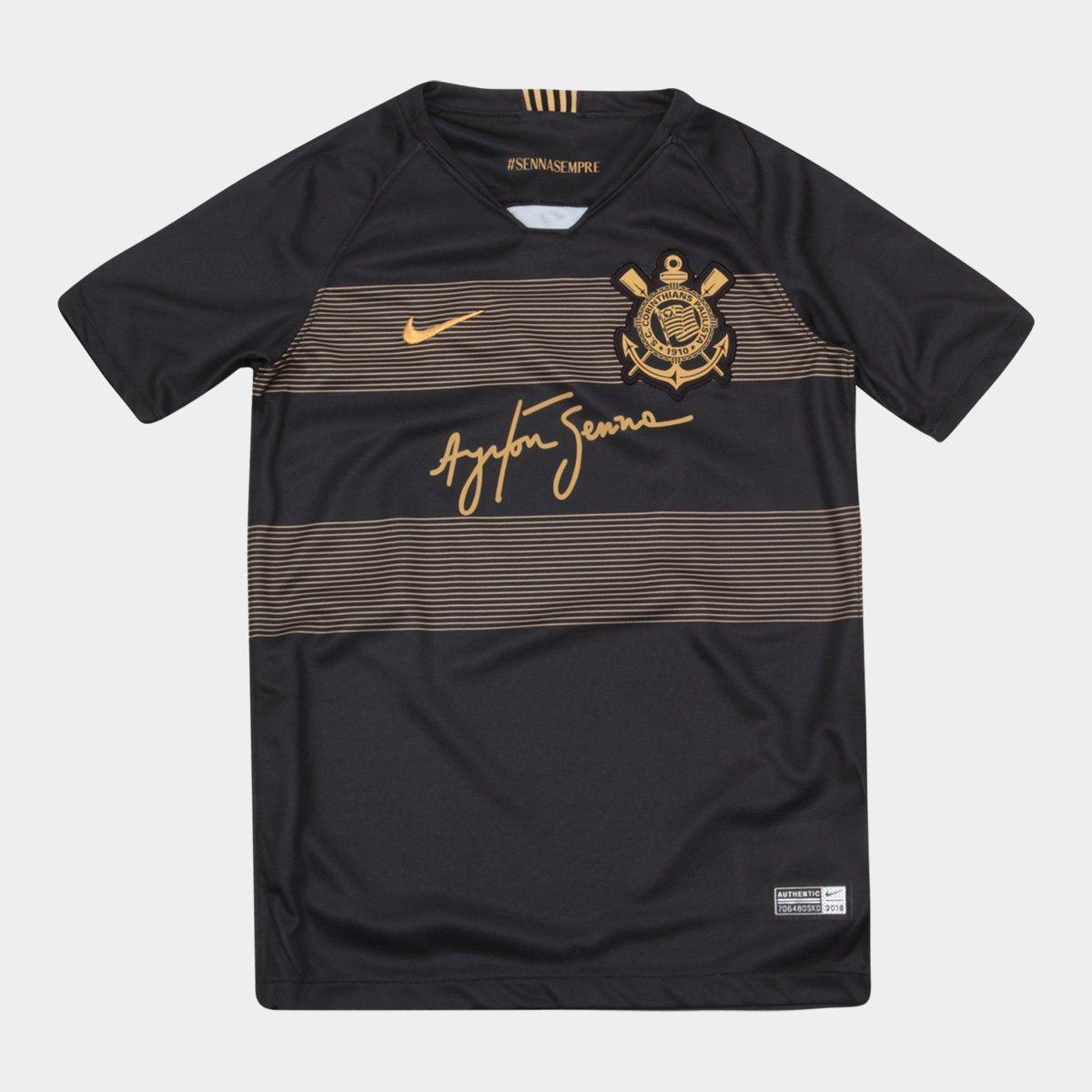 Corinthians, la terza maglia in onore di Ayrton Senna