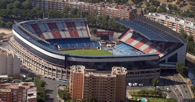 Il Vicente Calderon di Madrid