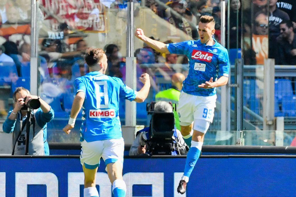 Il Napoli passeggia con la Roma: 4 sberle a Ranieri