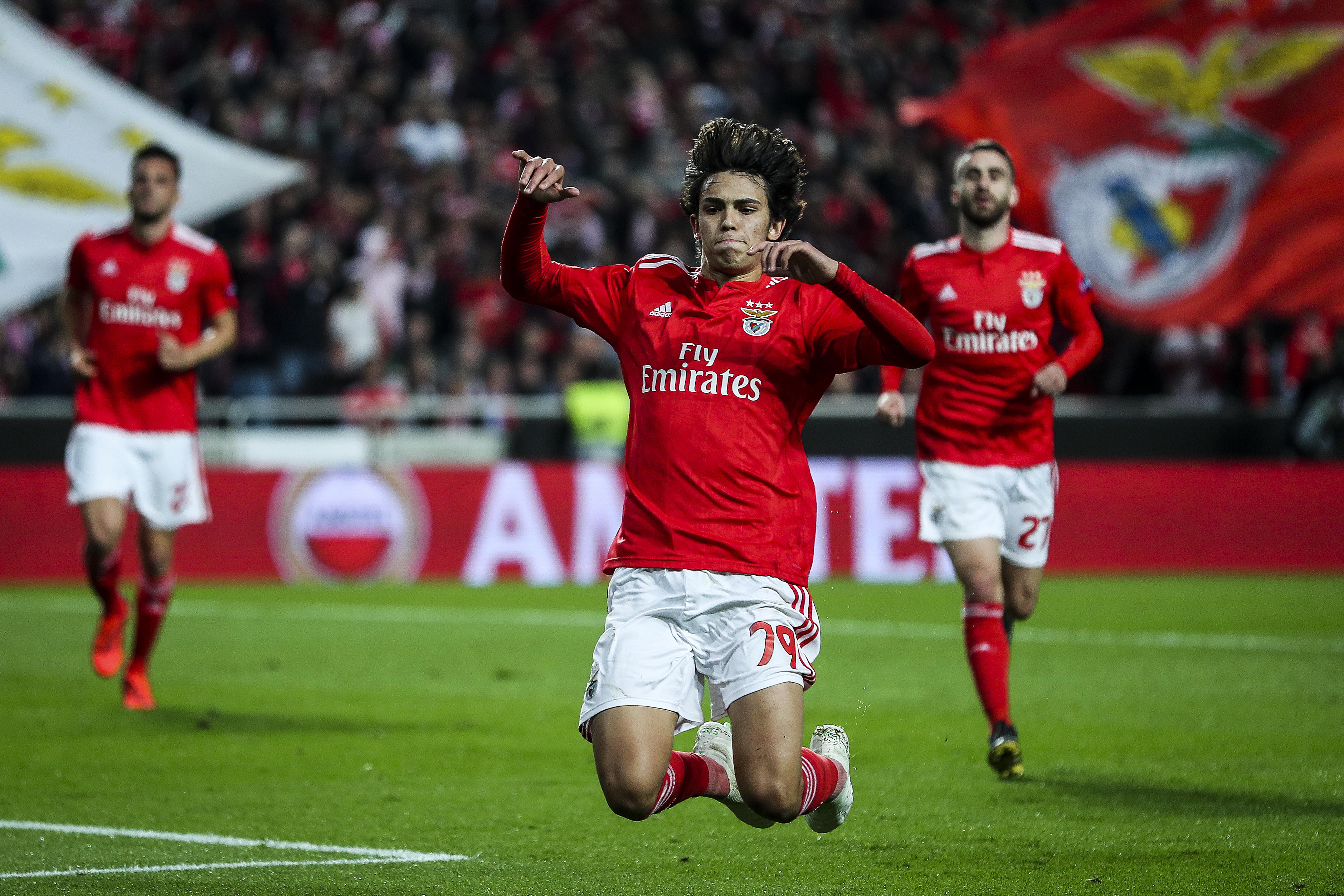Juve, guarda Joao Felix: tripletta e assist