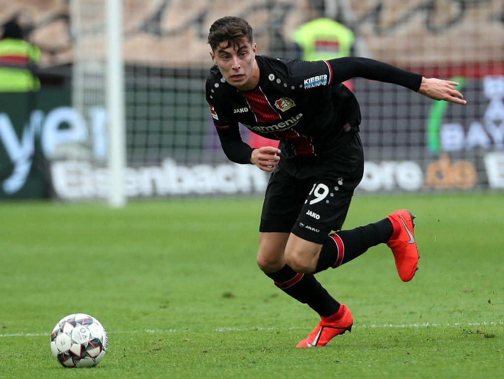 LA TOP TEN - 4) Havertz (Leverkusen)