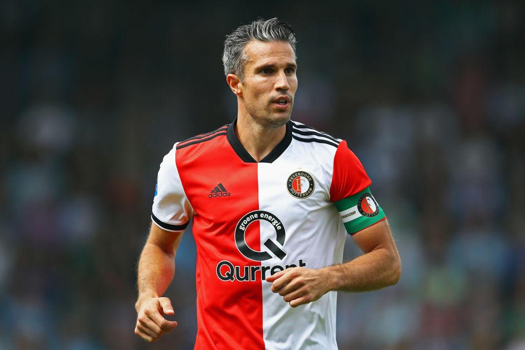 Robin van Persie, 35 anni, ha chiuso la carriera con l'ultima partita nel Feyenoord