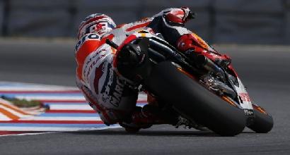 Marquez visto dai suoi avversari foto Honda
