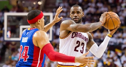 Nba, playoff: i Cavs volano, i Clippers affondano i Trail Blazers
