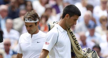 Federer e Djokovic (LaPresse)