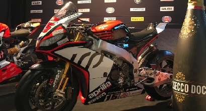 Superbike, Mercado con l'Aprilia del team Iodaracing