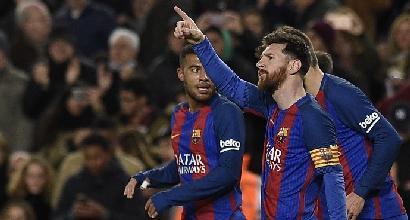 Barcellona-Celta Vigo 5-0, pokerissimo e primato momentaneo per i blaugrana
