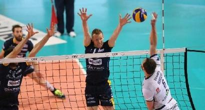 Volley, Coppa Cev: disfatta Trento, Tours firma l'impresa