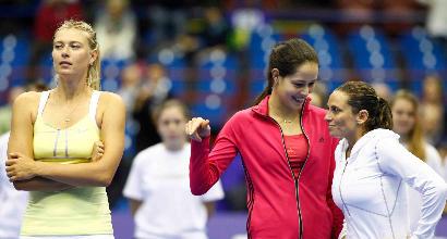 Tennis: Sharapova, la prima è contro la Vinci