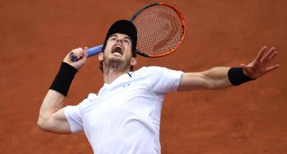 Roland Garros: Del Potro si scioglie, Murray vola agli ottavi