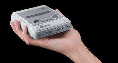 Anche il Super Nintendo si fa mini