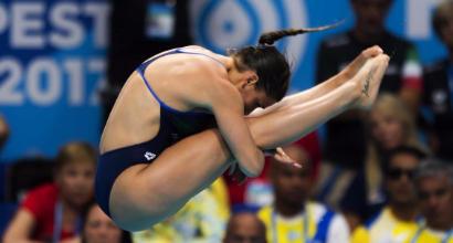 Tuffi, Mondiali Budapest 2017:  bronzo per Elena Bertocchi dal trampolino da 1 metro