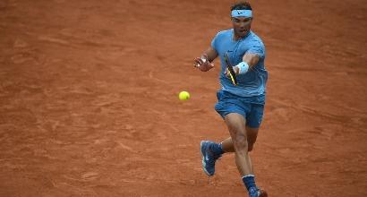 Roland Garros: le sifde Nadal-Schwartzman e Cilic-Del Potro interrotte per piogge, si riprende giovedì