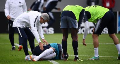 Francia, allarme rientrato per Mbappé