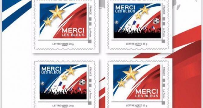 Mondiali 2018: in Francia ecco i francobolli celebrativi