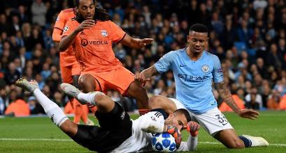 Champions, City battuto 2-1 in casa