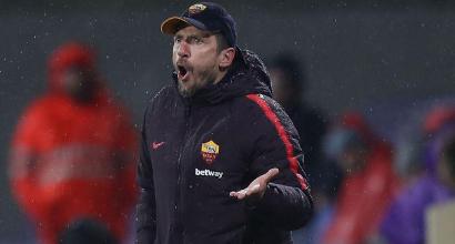 Roma, Di Francesco si giocherà la panchina contro il Milan