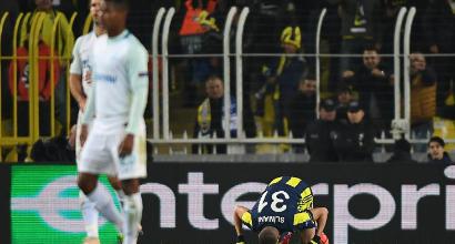 Europa League, sedicesimi andata: Fenerbahce-Zenit 1-0, decide Slimani