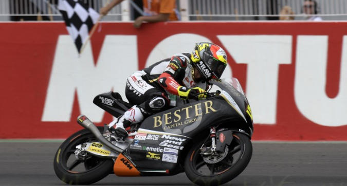 Moto3 Argentina: prima vittoria per Masià, primo podio per Arbolino
