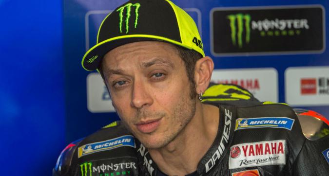 MotoGp, Rossi carico: