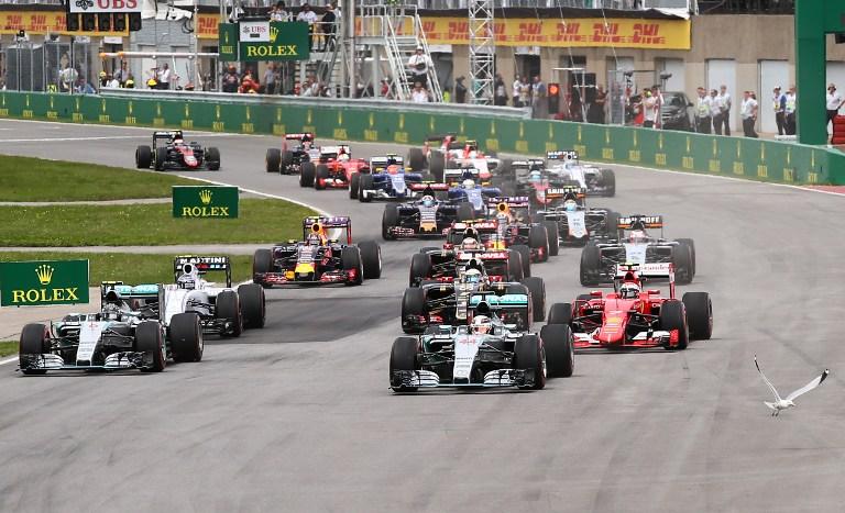 F1, Hamilton domina il GP del Canada