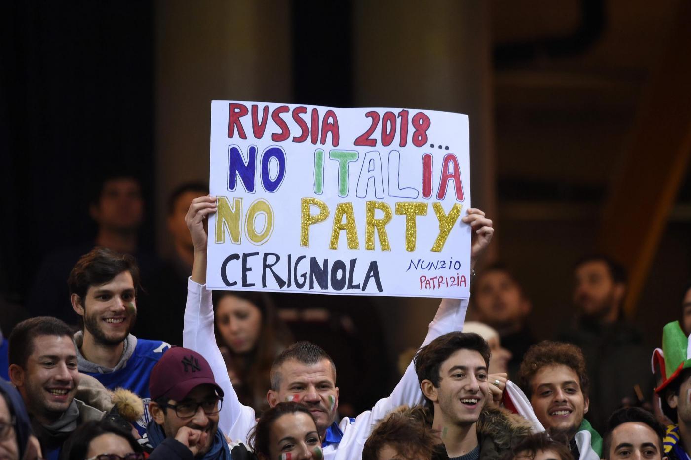 Italia ko in Svezia: Mondiale più lontano