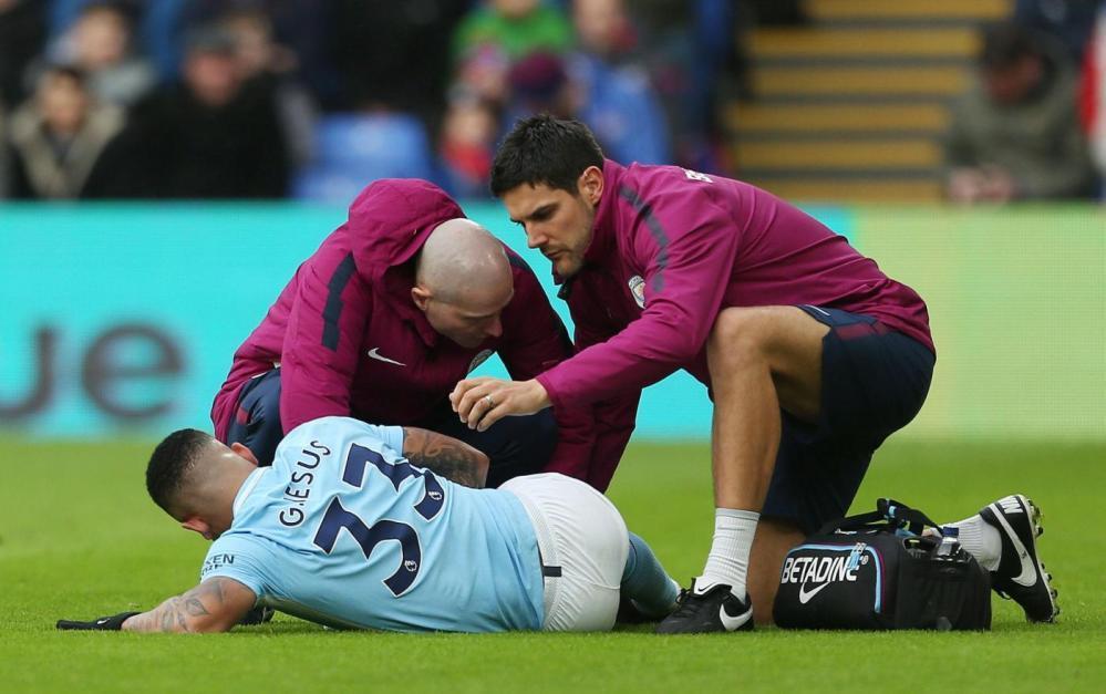 Il Manchester City trema per Gabriel Jesus e De Bruyne: infortunati