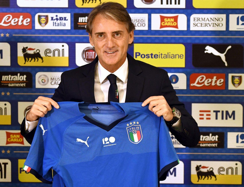 Italia, Roberto Mancini si presenta