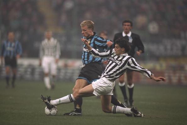 Juventus vs Inter 1993: Bergkamp contro Torricelli