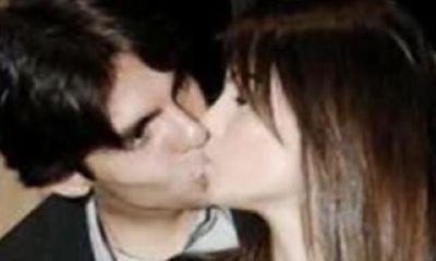 Kakà con la moglie Caroline