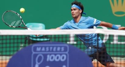 Tennis, Atp Montecarlo: Fognini rimonta e va al secondo turno